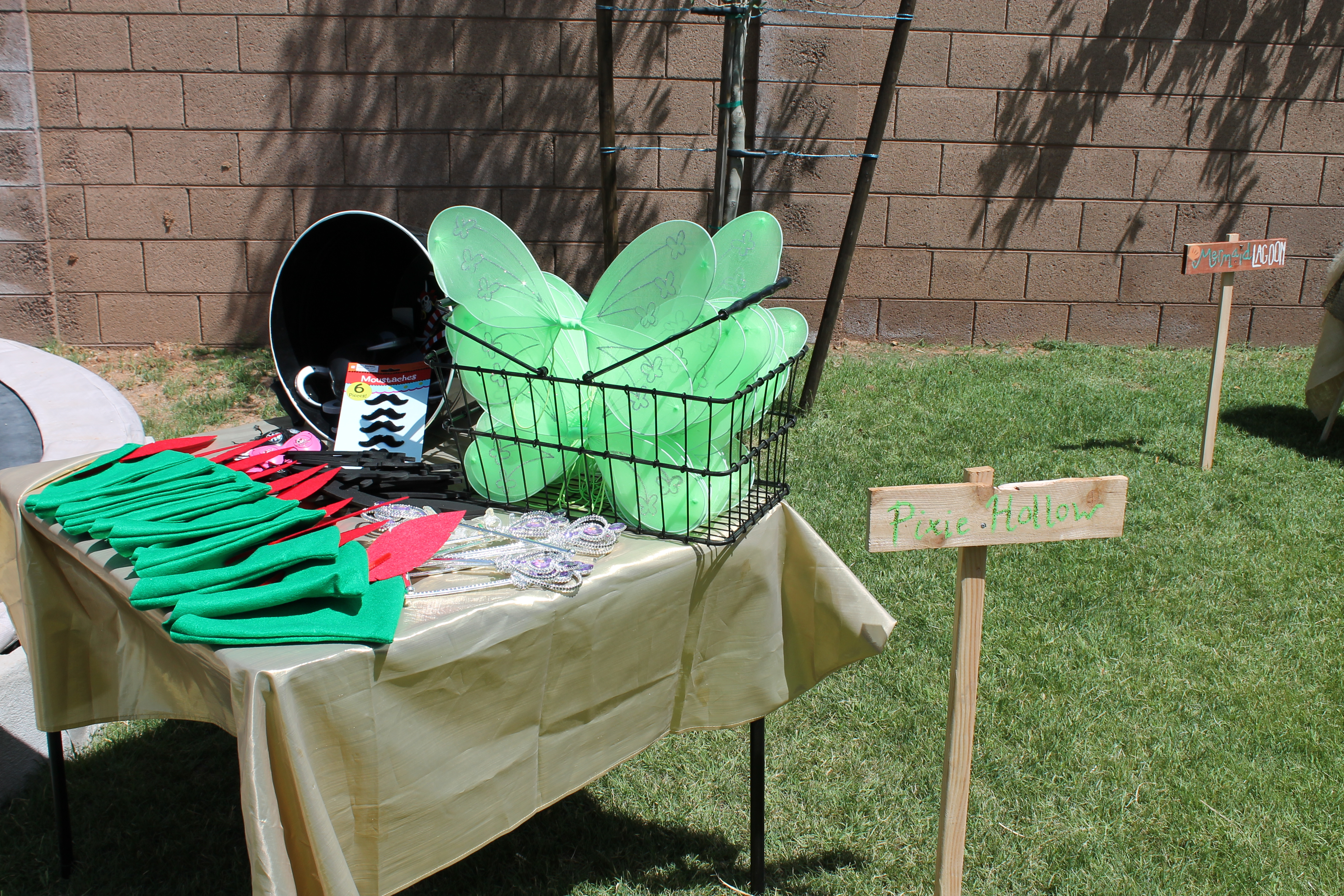 peter pan and tinkerbell party classy clutter
