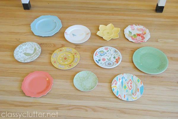 Plate Wall arrangement