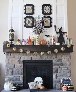 We are loving this festive Halloween mantel from yoursplendidlife! Howhellip