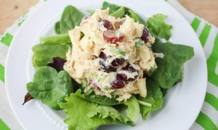 Crunchy Curry Chicken Salad
