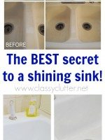 The best secret to a shinning sink