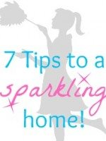 7 Tips to a Sparkling Home