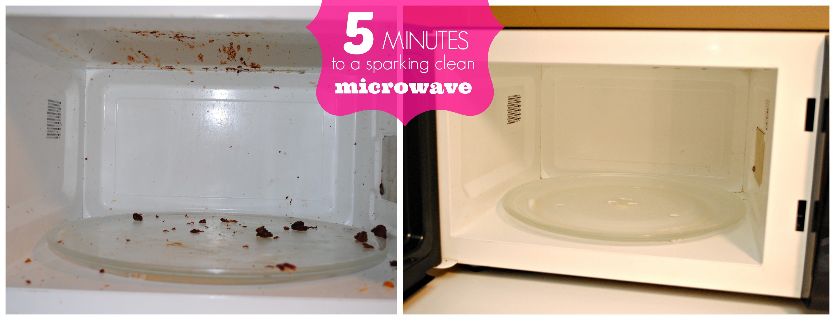 How To Clean Your Microwave In Under 5 Minutes With One Secret Ing