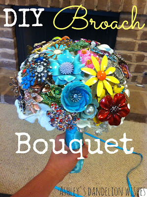 DIY Broach Bouquet #1