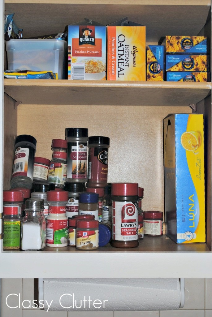 Spice Cabinet Mess