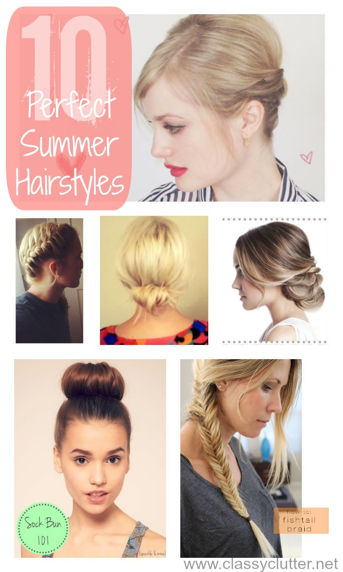 10 Adorable Hairstyles For Summer Classy Clutter