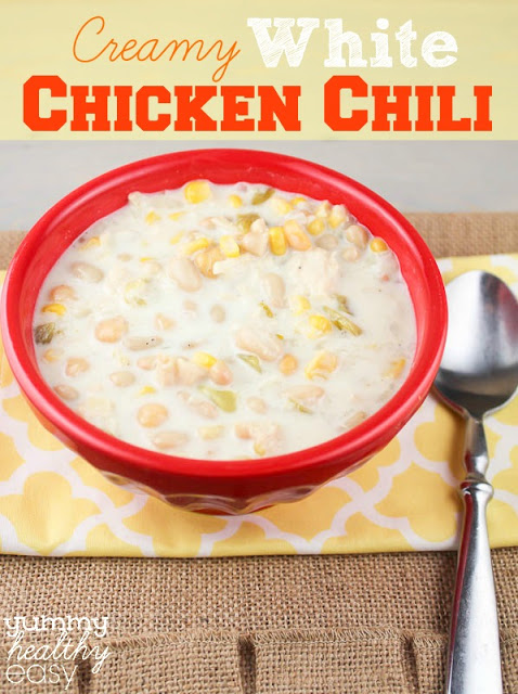 Creamy White Chicken Chili 5