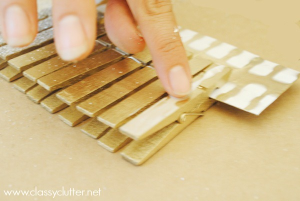 DIY Glittered Clothespins_3