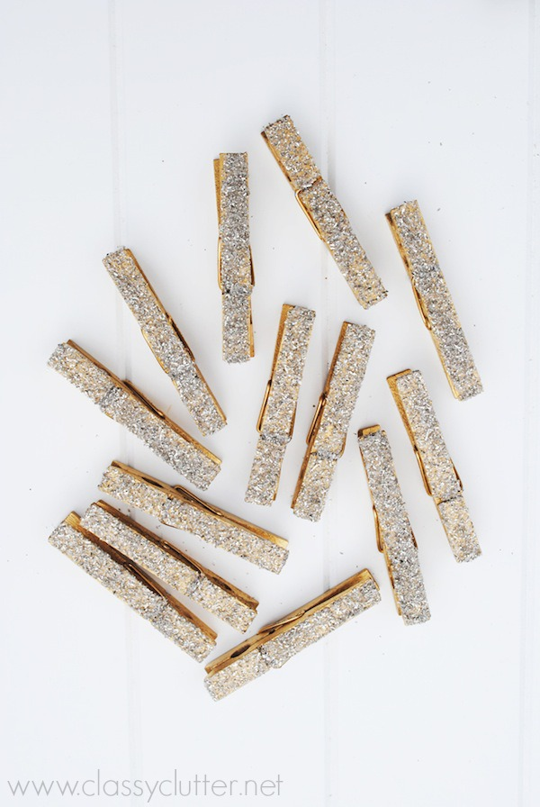 DIY Glittered Clothespins_5