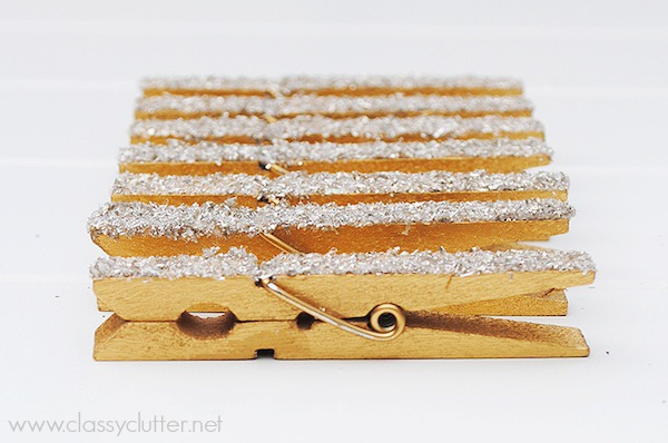 DIY Glittered Clothespins_8
