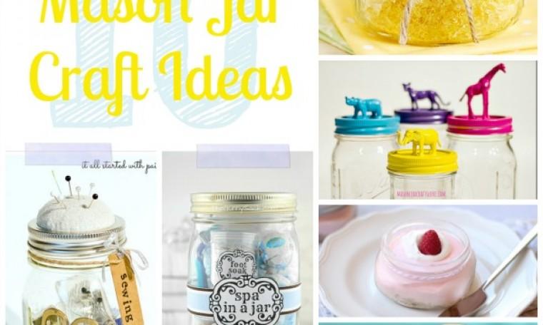 10 adorable Mason Jar craft ideas
