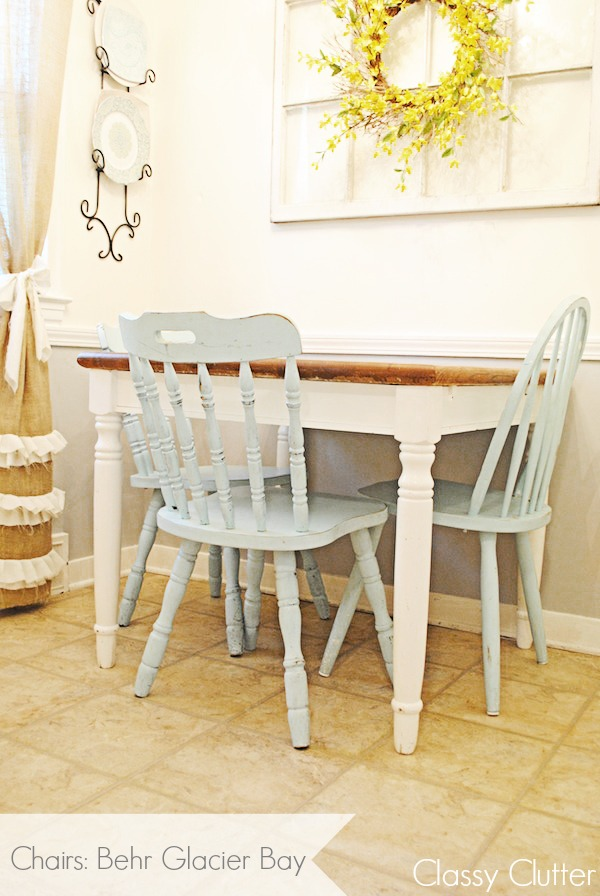 Painted chairs and a neutral table.jpg