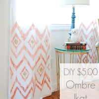 DIY $5 Ombre Ikat Curtains.jpg