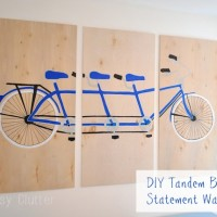 DIY Bicycle Wal Art