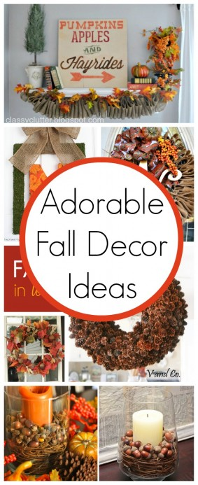 10 Super Cute Fall Decor Ideas