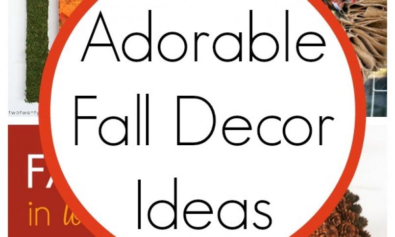 10 Super Cute Fall Decor Ideas - Classy Clutter