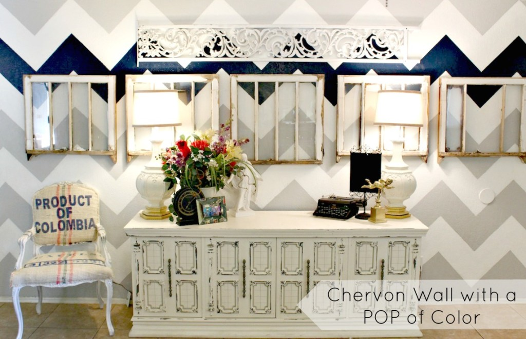 Chevron Wall Redo