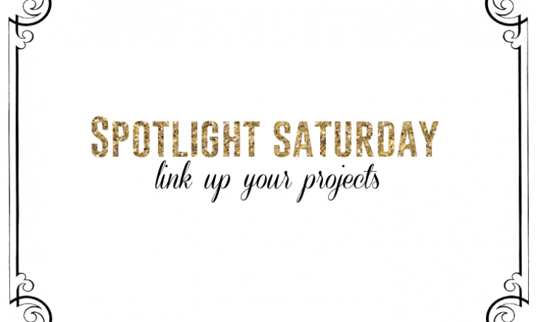Spotlight Saturday LINK PARTY