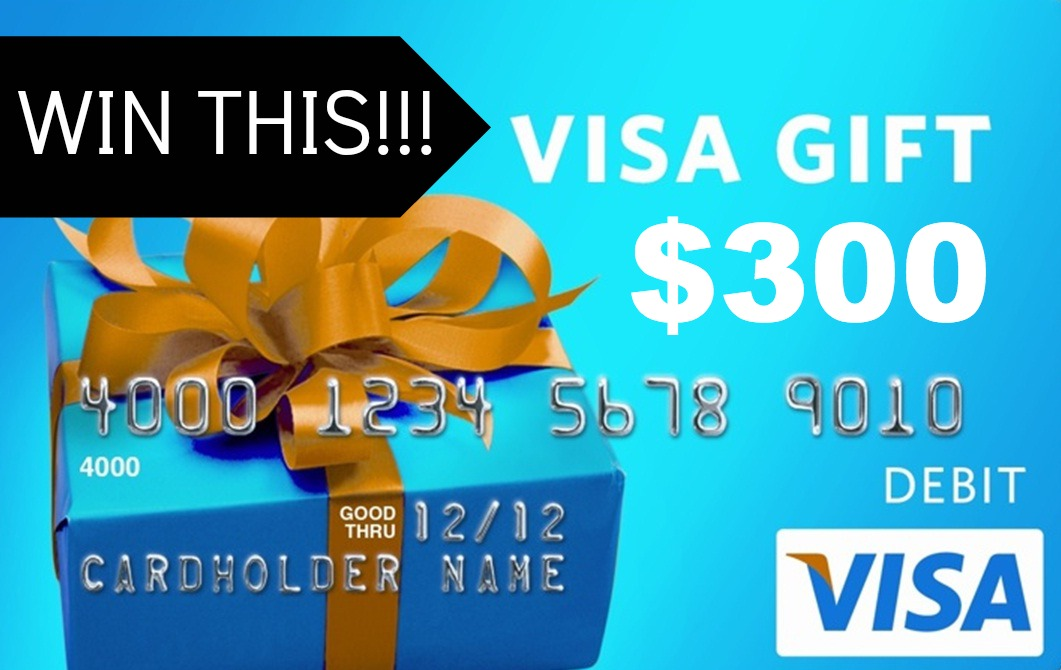 fall into christmas 300 visa gift card giveaway classy clutter - Visa Gift Card