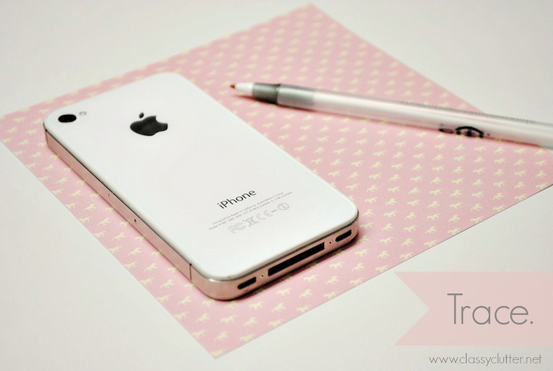 Diy iphone cases under 2 classy clutter for Iphone cut out template