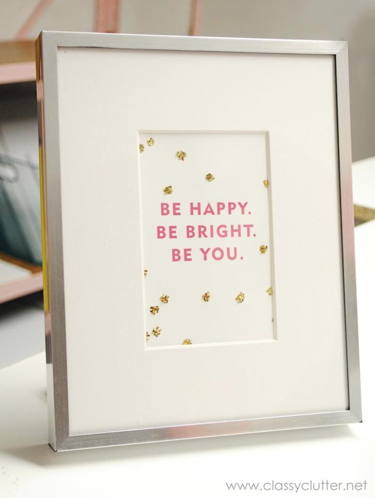 Be Happy Print