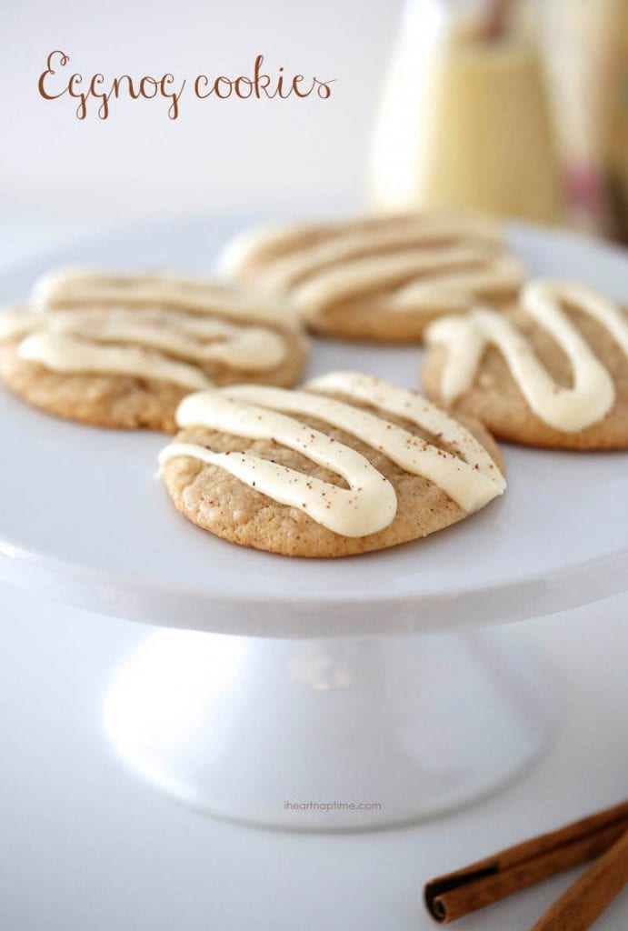 Christmas Treats - Eggnog Cookies