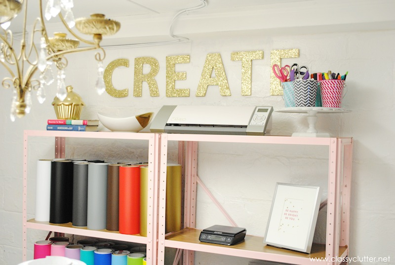 Craft Studio Shelves 2
