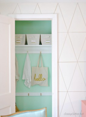 DIY Coat Closet Makeover