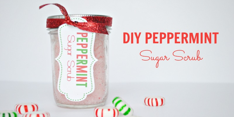DIY Peppermint Sugar Scrub Recipe – Last minute gift idea