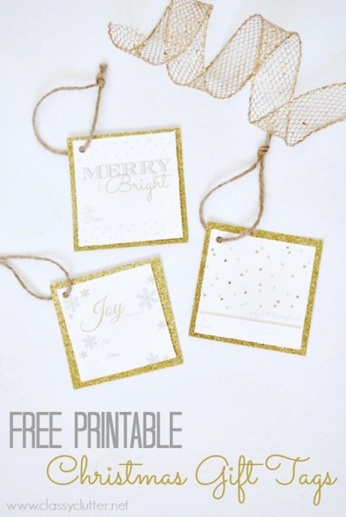 Printable Gift Tag 3