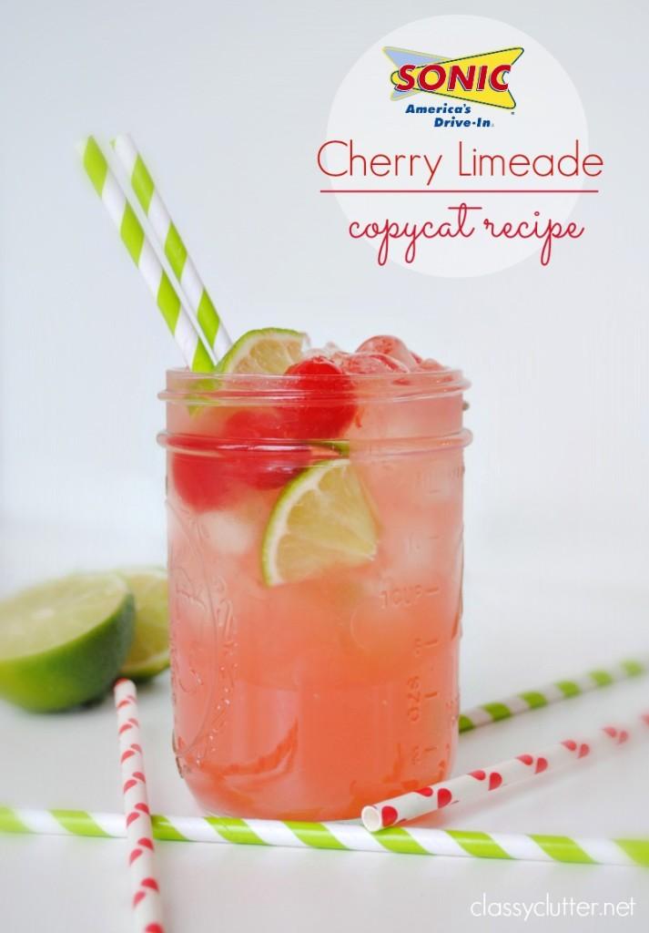 SONIC Cherry Limeade