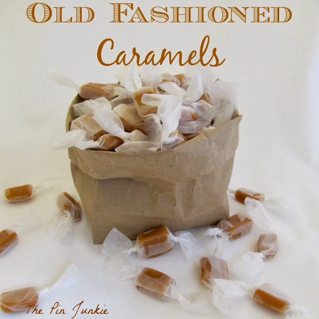old fashioned caramels