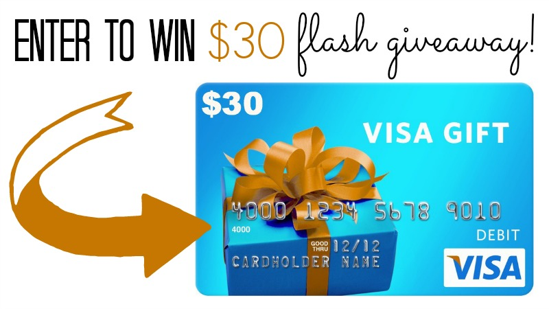 30 flash giveaway