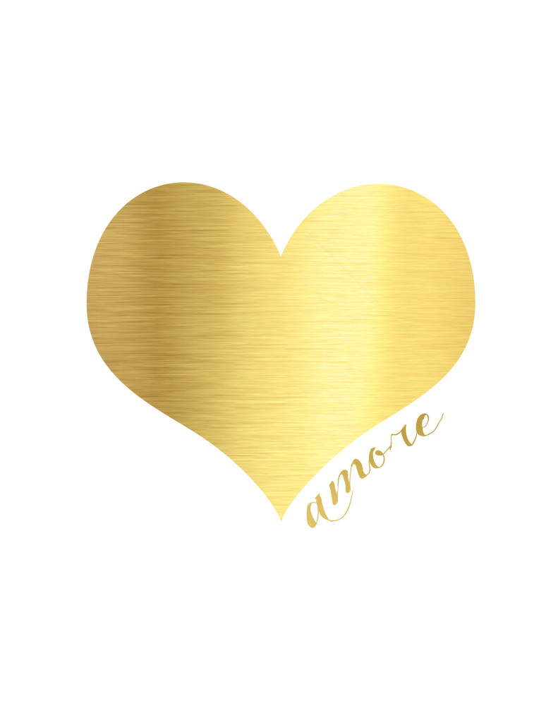 Amore heart printable
