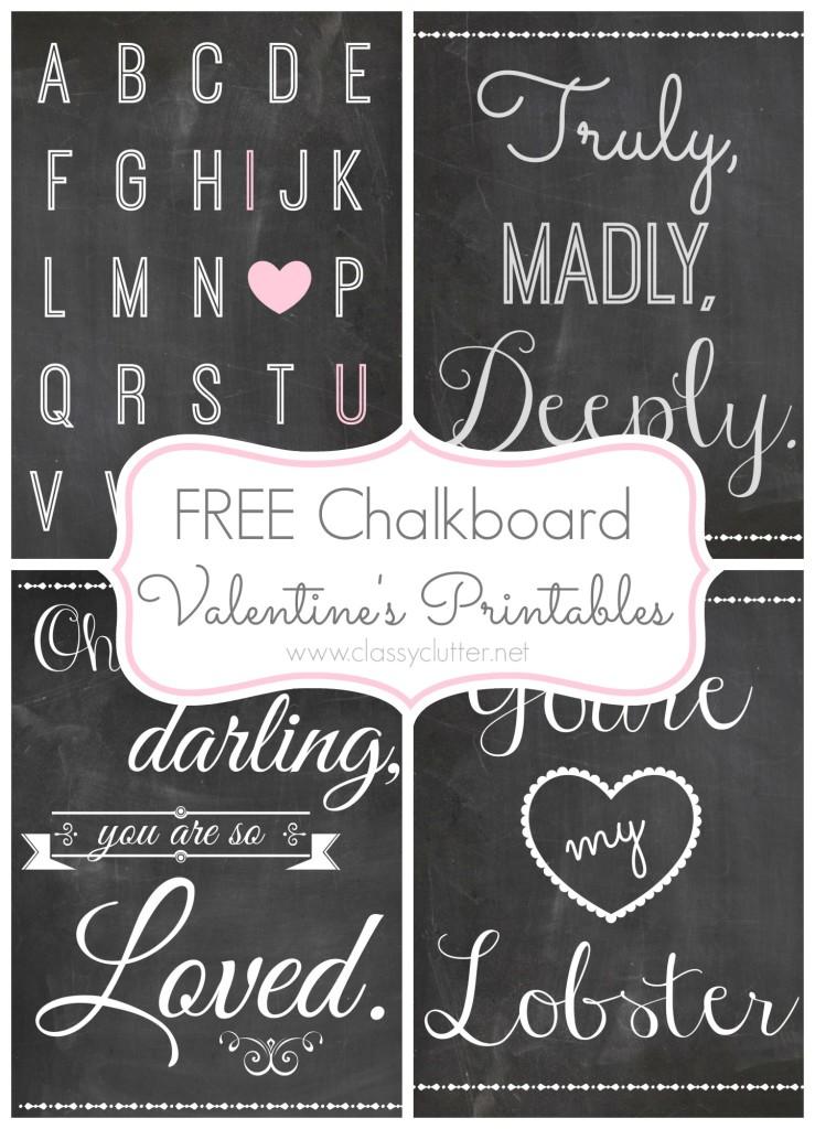 free valentine 39 s day printables. Black Bedroom Furniture Sets. Home Design Ideas