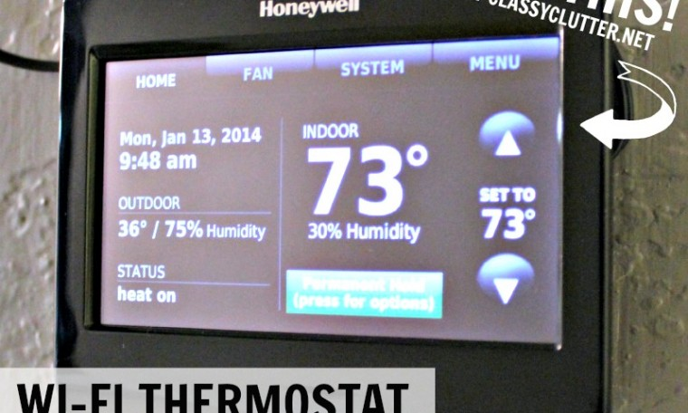 Honeywell's Wi-Fi Smart Thermostat Giveaway