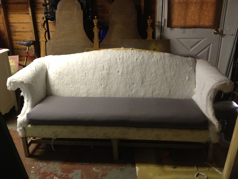 wikihow step a ways to couch reupholster version easy