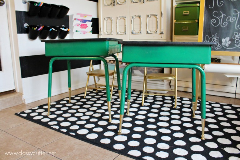 Kelly Green Desks