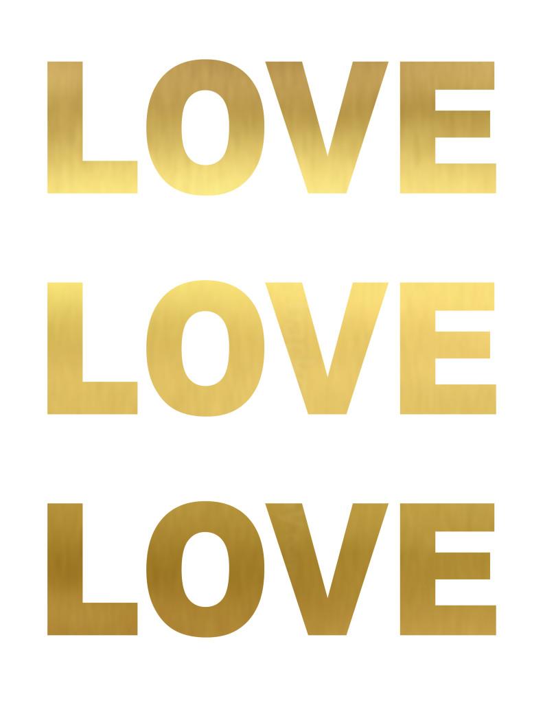 LOVE LOVE LOVE printable