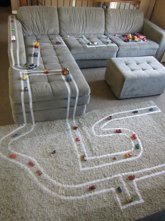 Tape Race Track