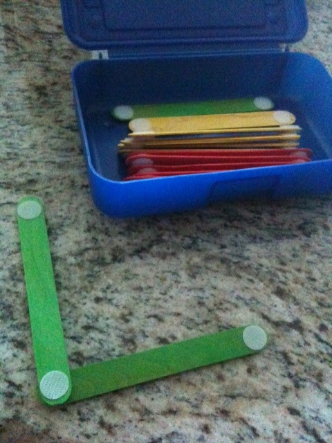 Velcro Sticks
