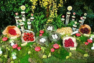 Woodland Fairy Cupcakes 2b