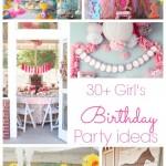 30+ Adorable girl's birthday parties | www.classyclutter.net