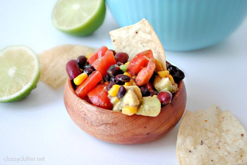 skinny black bean salad 2