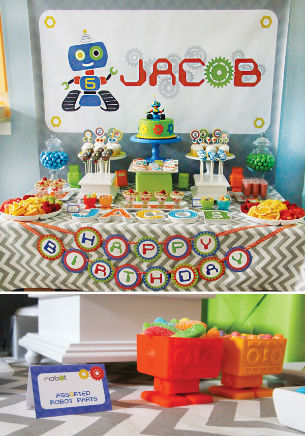 1-robot-themed-birthday-party