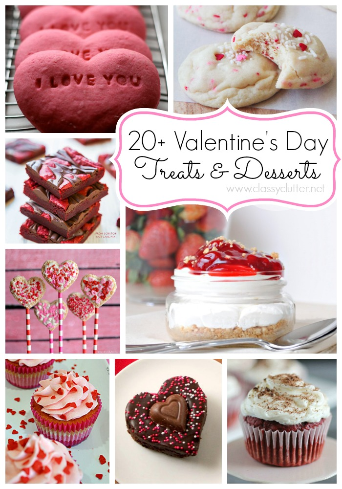 20+ Valentine's Day Treats
