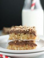 Chocolate  Crescent Bars