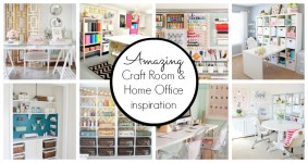 10 Creative Craft Rooms and Home Offices