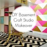DIY Craft Studio Makeover | www.classyclutter.net