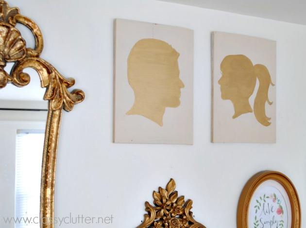 Gold Silhouettes